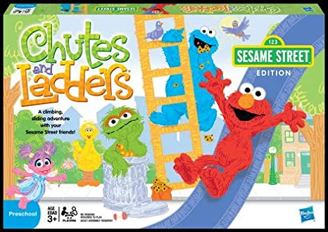 Amazoncom Chutes And Ladders Sesame Street Sesame Street Toys Games