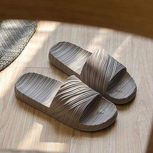 Asifn Indoor Slippers Non Home Women Swimming D Slip Sandals Shower gray Bedroom Summer Men wErXWqxIE