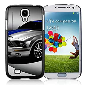 Ford Shelby Mustang GT500 Black Fantastic Design Samsung Galaxy S4 I9500 Cover Case