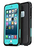 AMBM Best iPhone 6 Plus Case, iPhone 6 Plus Waterproof Case [Newest] Underwater Shockproof Snowproof Dirtpoof Protection Cover for 5.5 inches [Grass Blue]