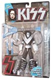 1997 - McFarlane - KISS - Ace Frehley : Space Ace - Ultra Action Figure - 7 Inches - With Guitar Transforms to Space Sled & Letter S - Out of Production - Limited Edition - Collectible