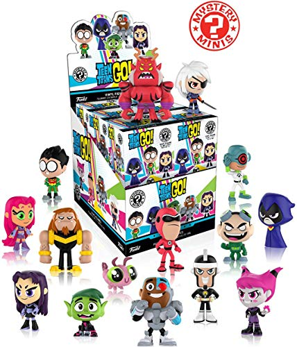 Teen Titans Go! Series 1 Mystery Minis Display Case