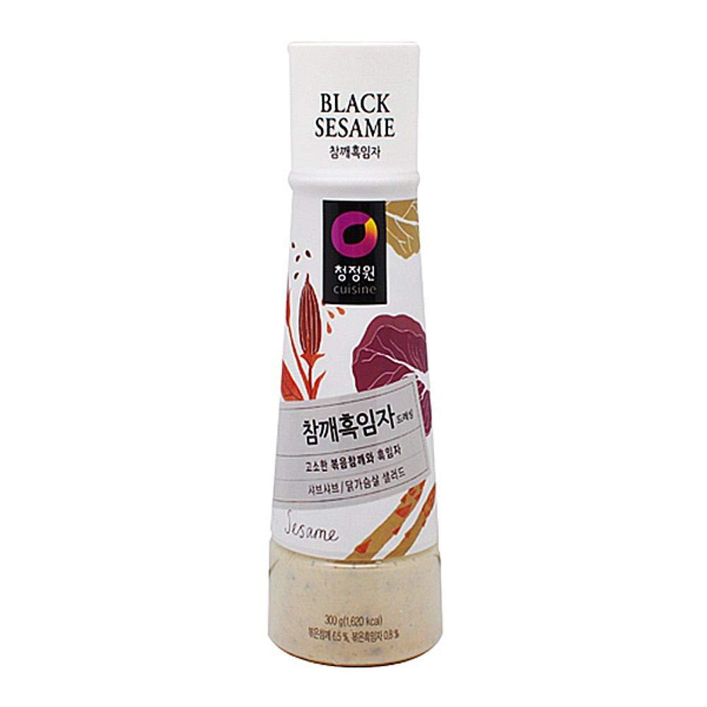 Chungjungone Sesame Black Sauce 300g 참깨 흑임자 소스