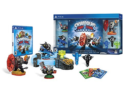 Skylanders Trap Team Dark Edition Starter Pack - PlayStation 4 (Best Team Games Ps4)