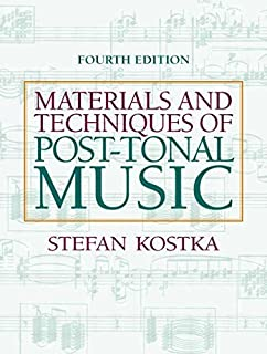 Materials and techniques of post tonal music stefan kostka materials and techniques of post tonal music 4th edition by kostka stefan 2011 fandeluxe Images