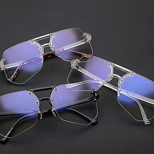 Sin C Mujer De Marco Big Gafas De Ciclismo Gafas Glasses Marine Sol Colorful E Hombre Y Trimming para Sol Informal wqfqERxU