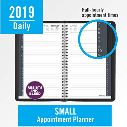 at a glance 2019 daily planner appointment book 5 x 8 small