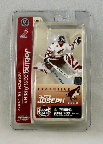 McFarlane Sports Picks Curtis Joseph Phoenix Coyotes Exclusive Mini Figure Decade In The Desert / Johing.Com Arena March 15, (Jobing Com Arena)