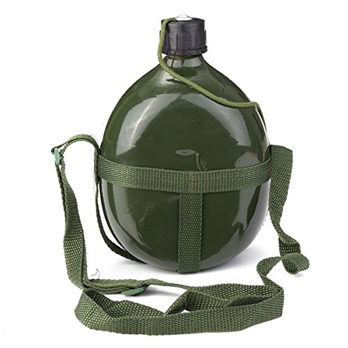 1.5L Military Canteen Aluminum Bicycle Cycling Military Water Cup Bottle by Access-Spt01