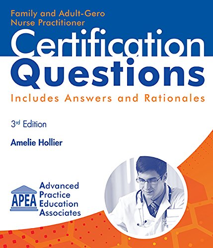 Family and Adult-Gero Nurse Practitioner Certification Questions