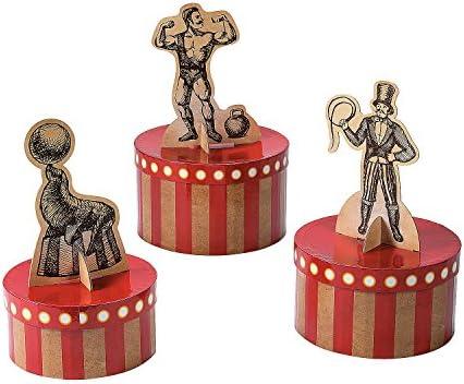 Fun Express - Centro de mesa vintage de circo para fiestas ...