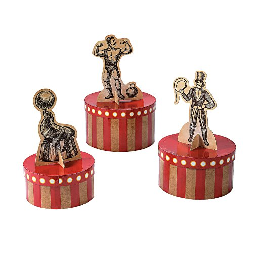 Vintage Circus Centerpiece Set -