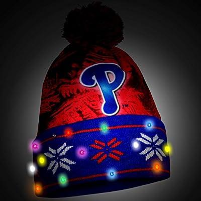 MLB Philadelphia Phillies Light Up Knit Hat