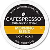 CAFESPRESSO Morning Blend for K Cup Keurig 2.0 Brewers, 42Count, Light Roast Single Serve Coffee Pods (Packaging May Vary)