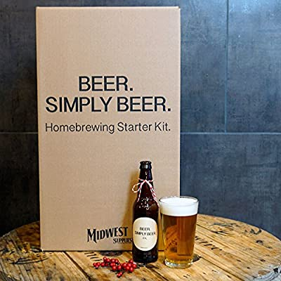 Beer. Simply Beer. – 5 Gallon Beer Brewing Starter Kit with Pale Ale Recipe Kit