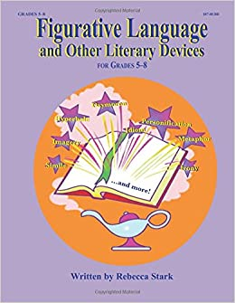figurative language and other literary elements rebecca stark