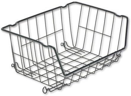 Amazon.com : Rubbermaid Shelf Savers Stackable Wire Basket, 10 10/10 ...