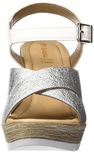 Bianco Blu In Cheville Femme 001 Bride Christie Sandales Blanc 0AwqpA1W