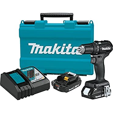 Makita XFD11RB 18V LXT Lithium-Ion Sub-Compact 0.5 Drill-Driver Kit