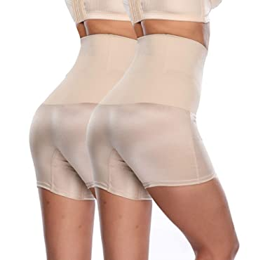 98a12d1c0d089 ZMZ 2 Pcs High Waist Body Shaper Figure Butt Lifter Shaper Panties Tummy  Control Slimming Pant Sexy Briefs at Amazon Women s Clothing store