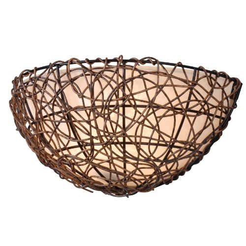 Kenroy Home 93300RAT Thicket Wall Sconce