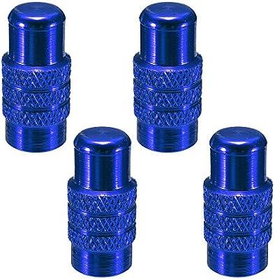 SODIAL(R) 4x Tapon de valvula Presta de neumatico rueda de ...