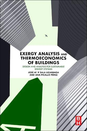 Exergy Analysis and Thermoeconomics of Buildings: Design and Analysis for Sustainable Energy Systems