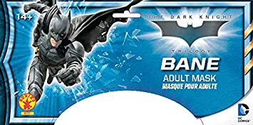 One Size Beige Rubies Official Adults Batman Bane 3//4 Mask Costume