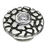 Kameleon Jewelry Black and Gray Crackle JewelPop KJP480