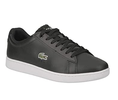 ffb92d3bee66ef Lacoste Carnaby Evo 119 3 SMA blk WHT Leather 737SMA001031291 Pointure 39  1/2