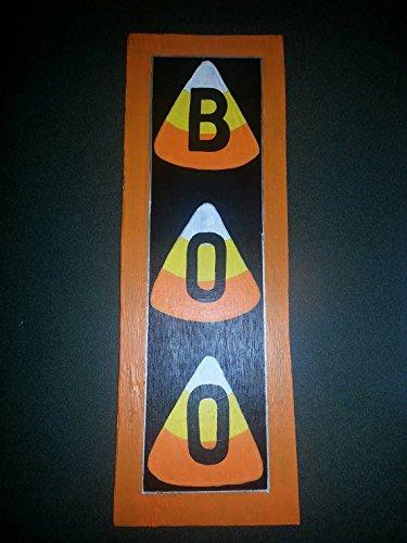 [BOO - Halloween Wood Sign / Decor] (Wood Boo Sign)