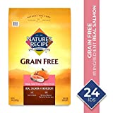 Image of Nature's Recipe Grain Free Easy To Digest Dry Dog Food, Salmon, Sweet Potato & Pumpkin Recipe, 24 lb