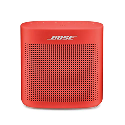 Bose SoundLink Color Bluetooth Speaker II - Coral Red (Best Sounding Ipod Docking Station)