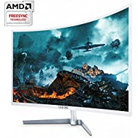 UGEE INFINI UG-323 Real 165Hz Curved 32 Inch FHD (1920x1080) Gaming Monitor,1ms (OD), Hot key, AMD Free Sync, 1800R, HDCP 2.2