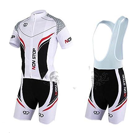 Amazon.com: Calidad transpirable bicicleta ciclismo ropa Set ...