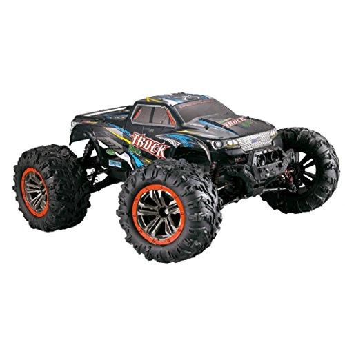 Xander 1/10 Scale Double motor High Speed Thrill 46km/h 2.4Ghz 4WD Monster Crawler Off-Road RC Car (Multicolor) by Xander_RC Car