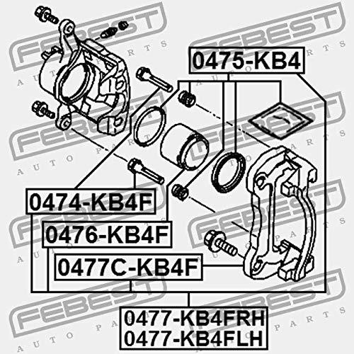 Febest 0477//°C KB4//°F Brake Power Amplifier