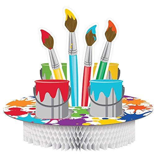 Art Party Centerpiece (2-Pack) by Creative Converting