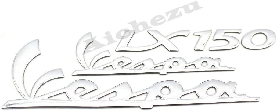 Decal for PIAGGIO Vespa LX150 150 Super Sticker ACZ Motorcycle 3D Emblem Stickers