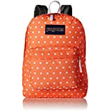 JanSport Superbreak, Tahitian Orange/White Dots, One Size