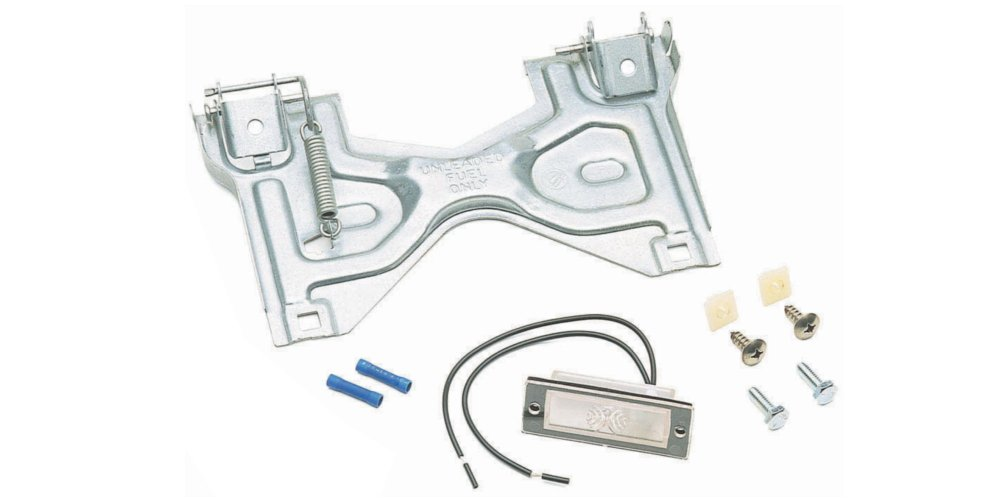 Street Scene 950-61100 Flip-Up License Plate Kit