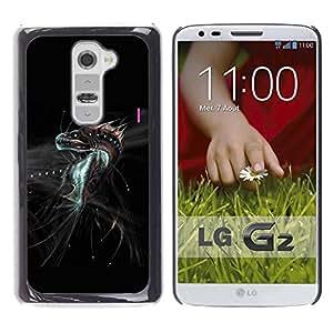 Be Good Phone Accessory // Dura Cáscara cubierta Protectora Caso Carcasa Funda de Protección para LG G2 D800 D802 D802TA D803 VS980 LS980 // Fantasy Dragon Monster