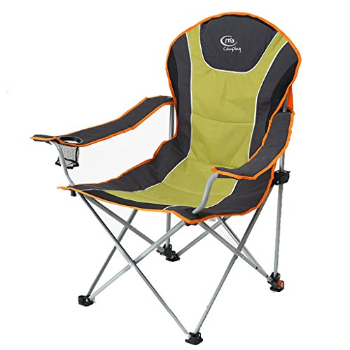 ge Chair Outdoor Recreational Chair Napping Bed Chair Wild Camping Backrest Chair ()