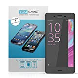 Yousave Accessories Sony Xperia X Performance Screen Protector 5 Pack [Ultra Thin] Crystal Clear [Triple Layer Scratch Guard Technology]