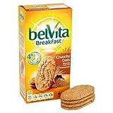 Belvita Breakfast Biscuits Crunchy Oats 6 X 50G Case Of 4