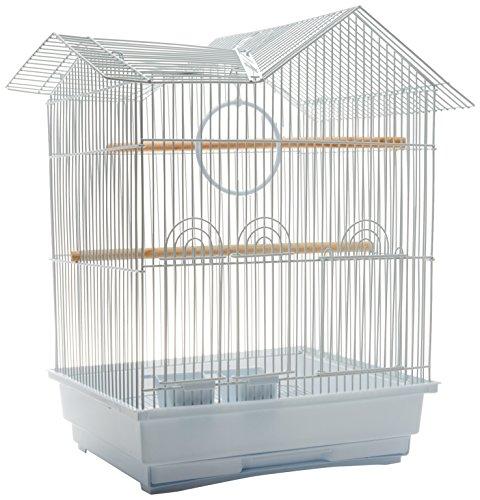 Super Pet SP23972 Jaula Tipo Casa para Aves Pequeñas