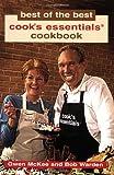 Best of the Best Cook's Essentials Cookbook, Gwen McKee and Bob Warden, 1893062929