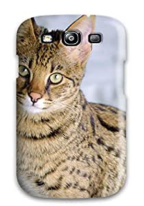 New Premium Savannah Cats Skin Case Cover Excellent Fitted For Galaxy S3