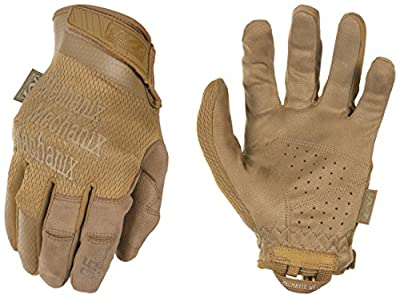 Mechanix Wear - Specialty 0.5mm High Dexterity Coyote Tactical Gloves (X-Large, Brown)
