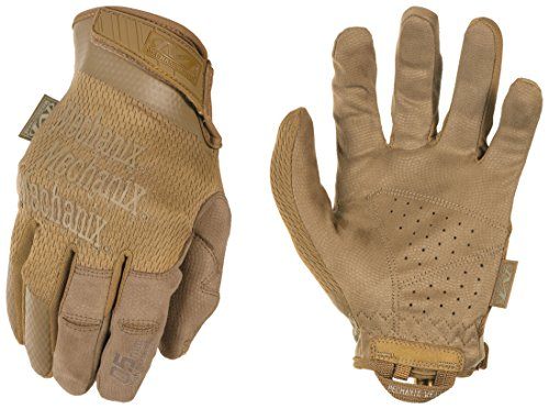 Mechanix Wear - Specialty 0.5mm High Dexterity Coyote Tactical Gloves (Medium, Brown) by Mechanix Wear